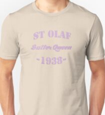 St Olaf Butter Queen Unisex T-Shirt