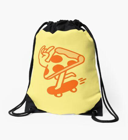 Rad Pizza Drawstring Bag