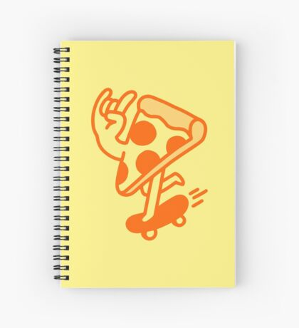 Rad Pizza Spiral Notebook