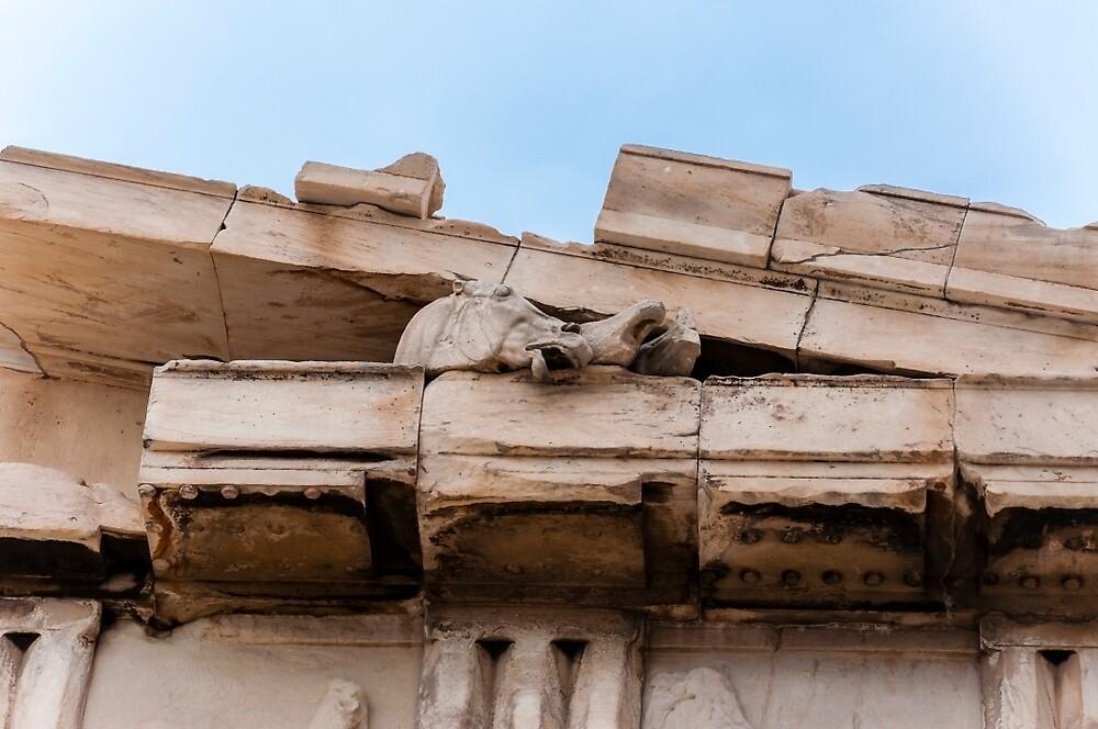 Parthenon pediment horses by Yevgeni Kacnelson
