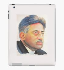 Pervez Musharraf - former Pakistan President iPad Case/Skin