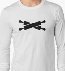 Crossed rolling pins Long Sleeve T-Shirt