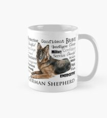 Ordinaire German Shepherd Traits Mug