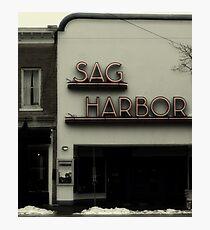 Sag Harbor Cinema II Photographic Print