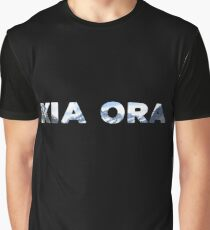 Kia Ora New Zealand Graphic T-Shirt