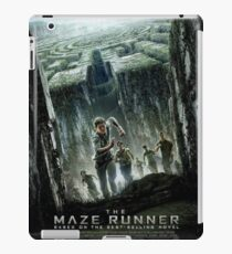The Maze Runner: Movie Poster iPad Case/Skin