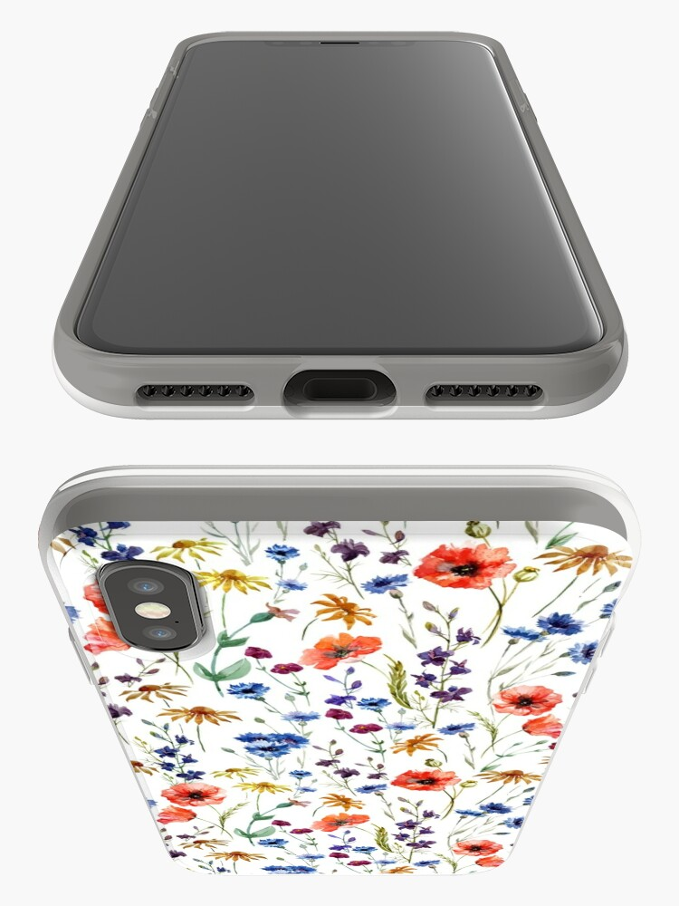 Alternative Ansicht von Wildblumen Muster iPhone-Hüllen & Cover