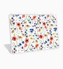 Wildblumen Muster Laptop Folie