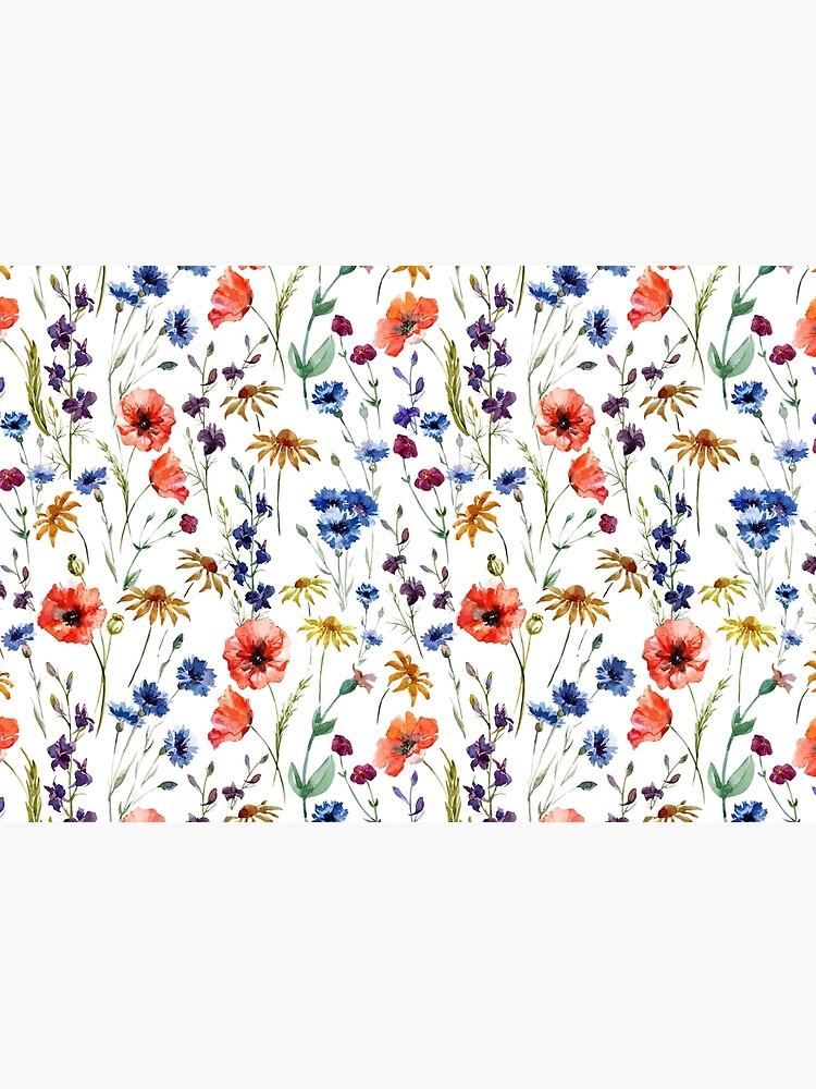 Wildflowers Pattern by junkydotcom