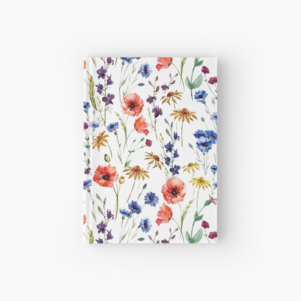 Wildflowers Pattern Hardcover Journal