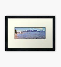 Coles Bay Panorama - Tasmania - Australia Framed Print