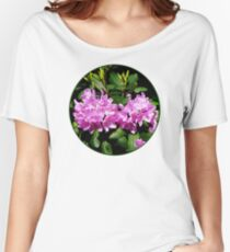 Rhododendron Closeup Women's Relaxed Fit T-Shirt
