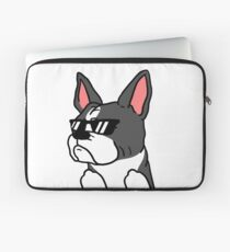 Funny I Do What I Want Boston Terrier Laptop Sleeve