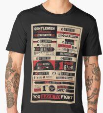 Fight Club Rules Men's Premium T-Shirt