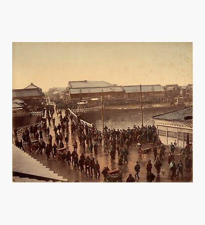 Iron bridge street, Yokohama Photographic Print