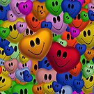 Smiley Faces by Catherine Veal  ©