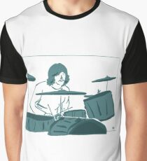 John Bonham - Bonzo - Led Zeppelin Graphic T-Shirt