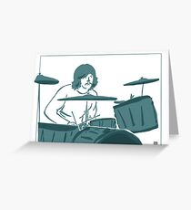 John Bonham - Bonzo - Led Zeppelin Greeting Card