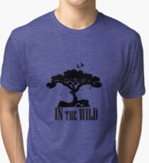 Wild Nature animals Tiger nature ecology Tri-blend T-Shirt