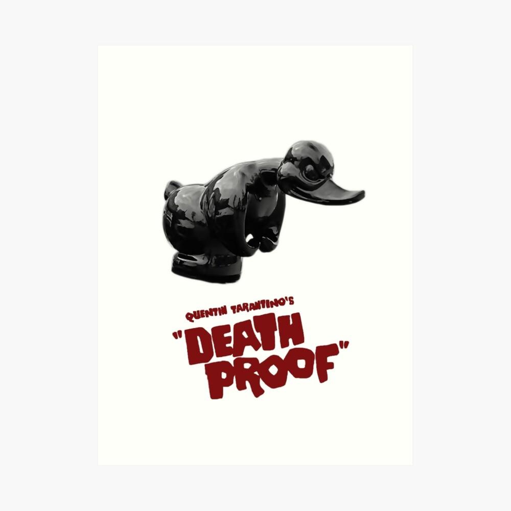 Prueba de la muerte - Pato Lámina artística