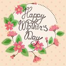Happy mother's day vintage by Marina Sterina