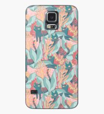 Cat Plant Case/Skin for Samsung Galaxy