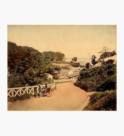 Yokohama bluff, Japan Photographic Print