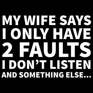 Husband Wife Funny Quote by CreativeAngel