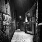 Ulverston Alley B&W by Stephen Miller