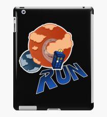 Doctor Who - Run iPad Case/Skin