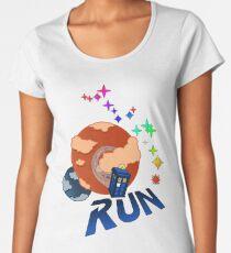 Doctor Who - Run to the Stars Women's Premium T-Shirt