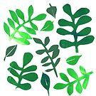 « Simple Leaves » par Mireille  Marchand