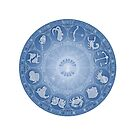 Zodiac wheel - the 12 star signs by chartofthemomen