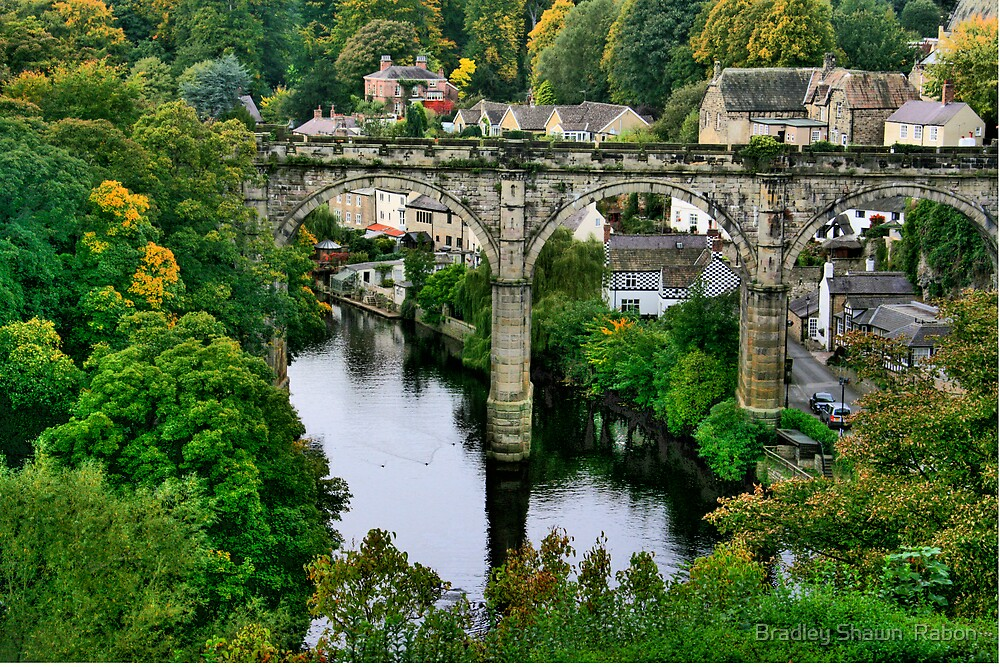 """Bridge over the River Nidd"" by Bradley Shawn  Rabon"