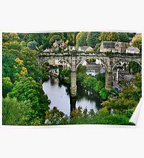 """Bridge over the River Nidd"" Poster"