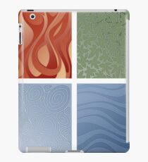 4 elements symbol - fire water air earth iPad Case/Skin