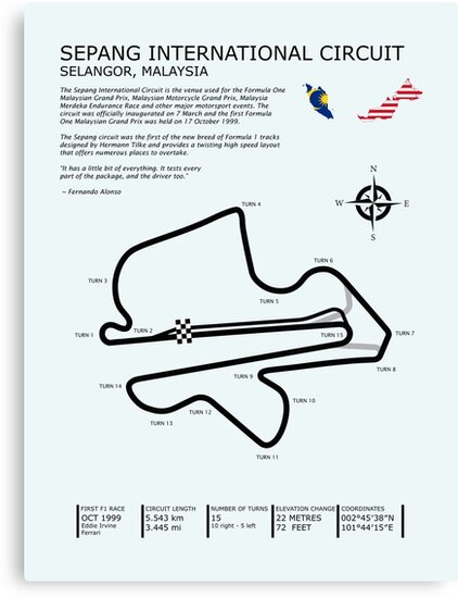 The Sepang International Circuit by rogue-design