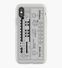 Roland TB-303 Bass Line Wireframe iPhone-Hülle & Cover