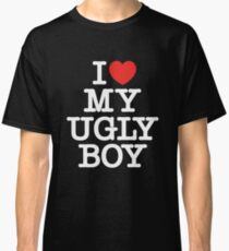 Die Antwoord - I Love My Ugly Boy (white) Classic T-Shirt