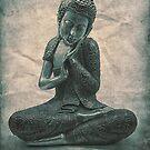 Buddha Blue Lotus by Madeleine Forsberg