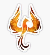 Fire Phoenix Bird  Sticker