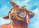 Funny Horse by Juhan Rodrik