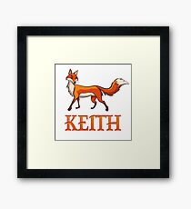 Keith Fox Framed Print