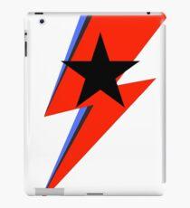 sane bolt, black star iPad Case/Skin