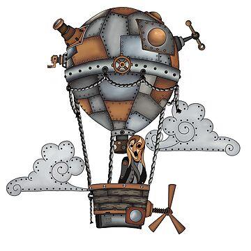 Steampunk scream by paviash
