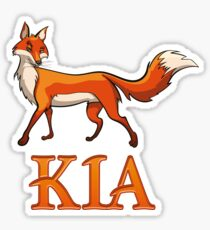 Kia Fox Sticker