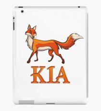Kia Fox iPad Case/Skin