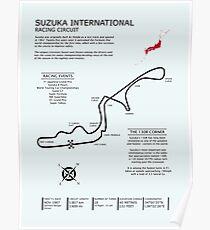 Suzuka International Racing Circuit Poster