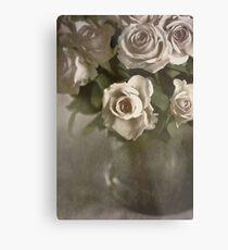 Antique Roses Metal Print