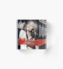 Paulette Rae - Romance Collection Acrylic Block
